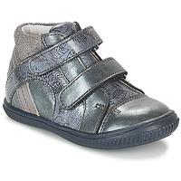 Cipők Lány Magas szárú edzőcipők GBB ROXANE Kék / Szürke