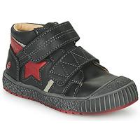 Cipők Fiú Magas szárú edzőcipők GBB RADIS Fekete