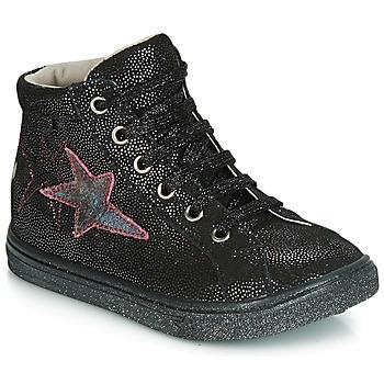 Cipők Lány Rövid szárú edzőcipők GBB MARTA Vte / Fekete-disco / Dpf / Dolby