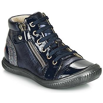Cipők Lány Magas szárú edzőcipők GBB RACHIDA Kék