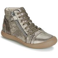 Cipők Lány Magas szárú edzőcipők GBB RACHIDA Tópszínű / Bronz
