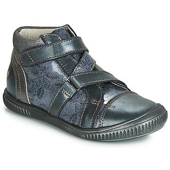 Cipők Lány Magas szárú edzőcipők GBB RADEGONDE Kék