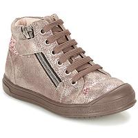 Cipők Lány Magas szárú edzőcipők GBB DESTINY Tópszínű / Bronz