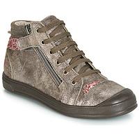 Cipők Lány Magas szárú edzőcipők GBB DESTINY Tópszínű / Rózsaszín