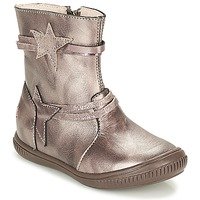 Cipők Lány Csizmák GBB NOTTE Tópszínű / Bronz