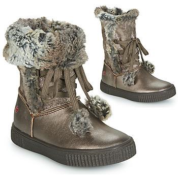 Cipők Lány Városi csizmák GBB NOUSTIK Bronz
