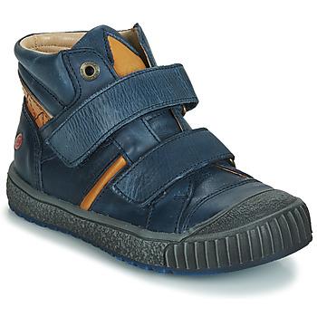 Cipők Fiú Rövid szárú edzőcipők GBB RAIFORT Vte / Tengerész kék-okker sárga / Dpf / Linux