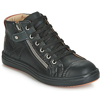 Cipők Fiú Magas szárú edzőcipők GBB NICO Vte / Fekete  / Dpf / 2835
