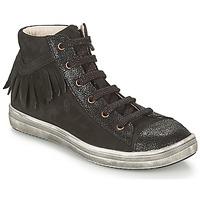 Cipők Lány Magas szárú edzőcipők GBB FRANCESCA Fekete