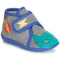 Cipők Fiú Mamuszok GBB SUPER DOUDOU Szürke / Kék