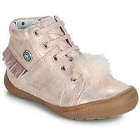 Cipők Lány Magas szárú edzőcipők Catimini ROSALIE Rózsaszín