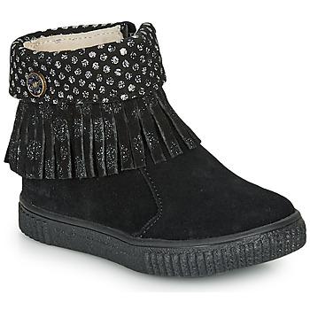 Cipők Lány Csizmák Catimini PERETTE Fekete