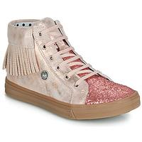 Cipők Lány Magas szárú edzőcipők Catimini LOULOU Rózsaszín