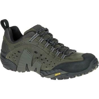 Cipők Férfi Rövid szárú edzőcipők Merrell Intercept Zöld