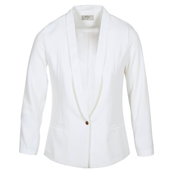 Ruhák Női Kabátok / Blézerek Betty London IKAROLE Fehér