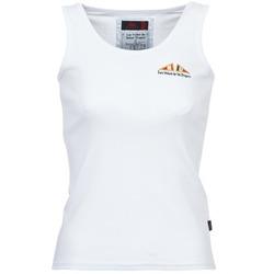 Ruhák Női Trikók / Ujjatlan pólók Les voiles de St Tropez BLENNIE Fehér