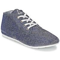 Cipők Női Rövid szárú edzőcipők Eleven Paris BASGLITTER Ezüst