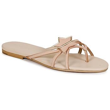 Cipők Női Lábujjközös papucsok See by Chloé SB24120 Bézs / Bőrszínű