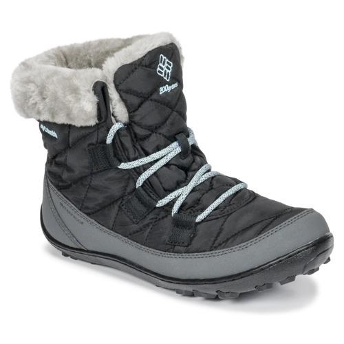 Cipők Gyerek Hótaposók Columbia YOUTH MINX SHORTY OMNI-HEAT™ WATERPROOF Fekete
