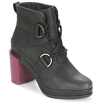 Cipők Női Bokacsizmák Sorel MARGO LACE Fekete