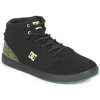 Cipők Gyerek Magas szárú edzőcipők DC Shoes CRISIS HIGH SE B SHOE BK9 Fekete  / Zöld