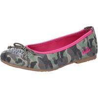 Cipők Lány Balerina cipők  Lulu AG640 Zöld
