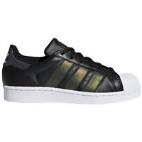 Cipők Gyerek Rövid szárú edzőcipők adidas Originals Superstar Czarne