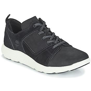 Cipők Férfi Magas szárú edzőcipők Timberland FlyRoam Leather Oxford Fekete