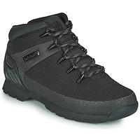 Cipők Férfi Csizmák Timberland Euro Sprint Fabric WP Fekete