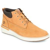 Cipők Férfi Magas szárú edzőcipők Timberland Cross Mark PT Chukka Búza