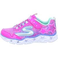 Cipők Lány Rövid szárú edzőcipők Skechers Galaxy Lights Kinder Różowe