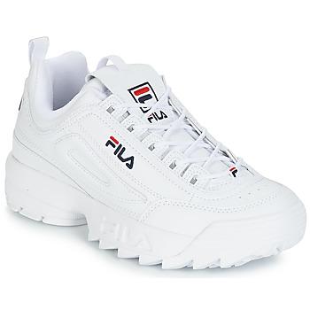 Cipők Férfi Rövid szárú edzőcipők Fila DISRUPTOR LOW Fehér