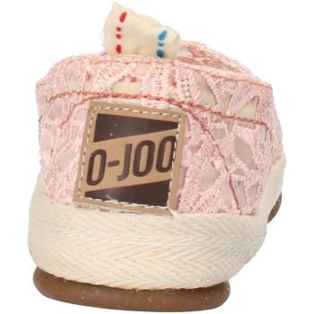 Cipők Női Belebújós cipők O-joo slip on rosa tessuto AG958 Rosa