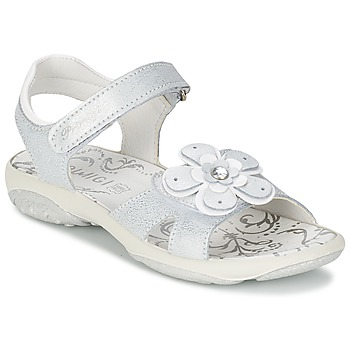 Cipők Lány Szandálok / Saruk Primigi LINA Fehér / Ezüst