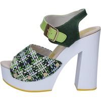 Cipők Női Szandálok / Saruk Suky Brand Szandál AC489 Zöld