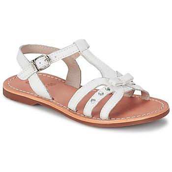 Shoes Lány Szandálok / Saruk Aster VALENTINA Fehér