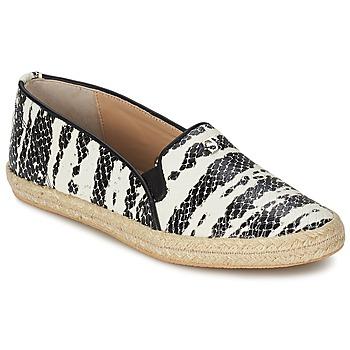 Cipők Női Belebújós cipők SuperTrash ALISA Kígyó / Fekete  / Bézs