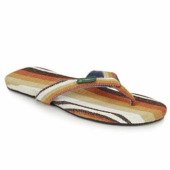 Cipők Férfi Lábujjközös papucsok SoleRebels EASYRIDING Barna