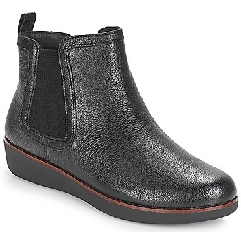 Cipők Női Csizmák FitFlop CHAI Fekete
