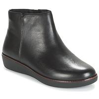 Cipők Női Csizmák FitFlop ZIGGY ZIP Fekete