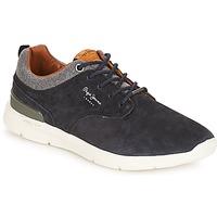 Cipők Férfi Rövid szárú edzőcipők Pepe jeans Jayden Tengerész