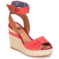 Cipők Női Szandálok / Saruk Napapijri BELLE Piros