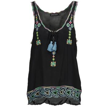 Ruhák Női Trikók / Ujjatlan pólók Antik Batik SANAH Fekete
