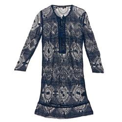Ruhák Női Rövid ruhák Antik Batik LEANE Tengerész