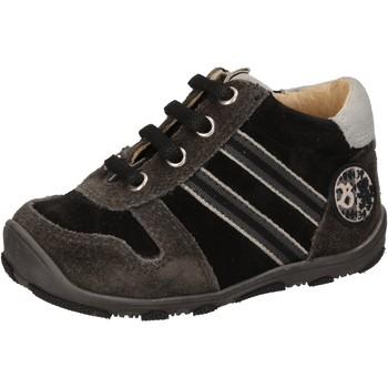 Cipők Fiú Magas szárú edzőcipők Balducci AD596 Fekete