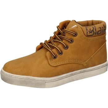 Cipők Fiú Magas szárú edzőcipők Blaike AD702 Sárga