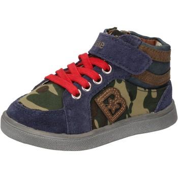 Cipők Fiú Magas szárú edzőcipők Blaike AD769 Kék