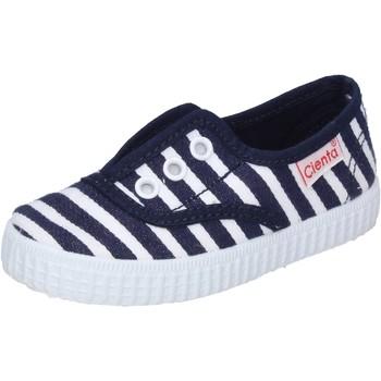 Cipők Fiú Rövid szárú edzőcipők Cienta AD823 Kék