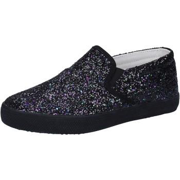 Cipők Lány Belebújós cipők Date AD836 Fekete