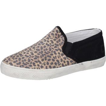 Cipők Lány Belebújós cipők Date AD837 Fekete